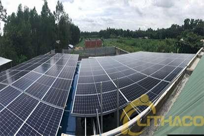 Điện mặt trời nối lưới 50kWp