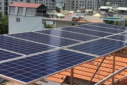 Điện mặt trời nối lưới 7.245kWp