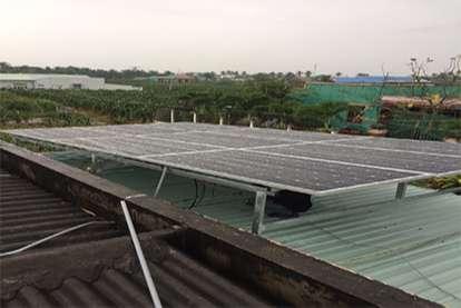 Điện mặt trời nối lưới 3.45kWp