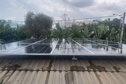 Điện mặt trời nối lưới 3.42kWp