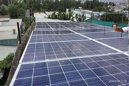 Điện mặt trời nối lưới 6.16kWp