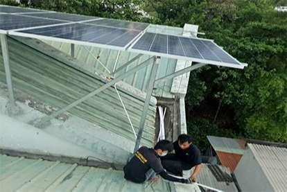 Điện mặt trời nối lưới 5.175kWp