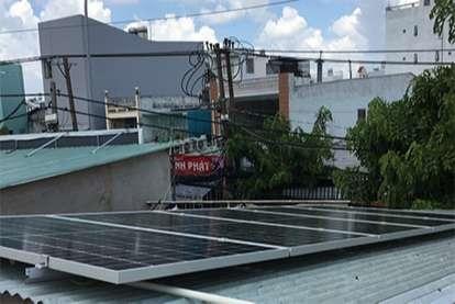 Điện mặt trời nối lưới 2.24kWp