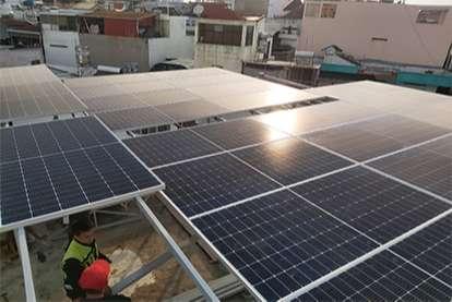 Điện mặt trời nối lưới 14.45kWp