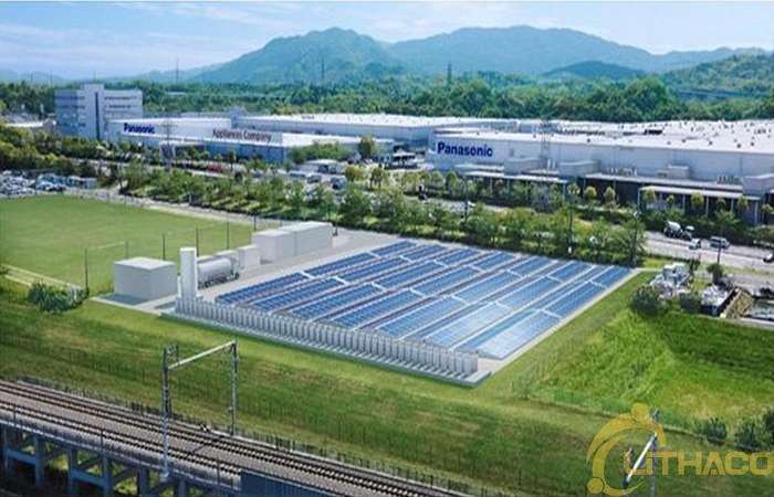 Panasonic kết hợp máy phát điện pin nhiên liệu hydro với PV và pin lưu trữ 1