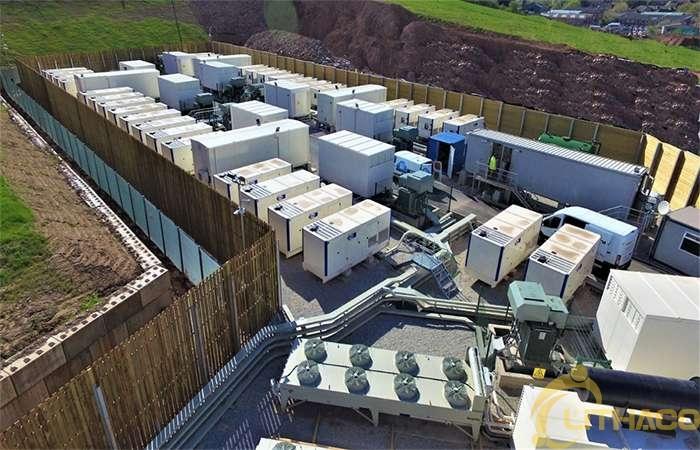 Nhà máy lưu trữ năng lượng bằng pin 16GW đang được lắp đặt ở Anh 1