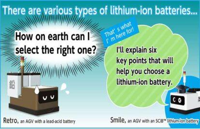 Làm thế nào để chọn đúng pin lithium-ion?