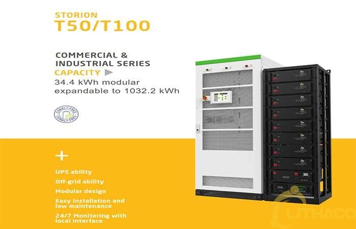 LITHACO giới thiệu hệ thống điện mặt trời kết hợp lưu trữ 1MW/2MWh – [Bảng giá] và thời gian hoàn vốn