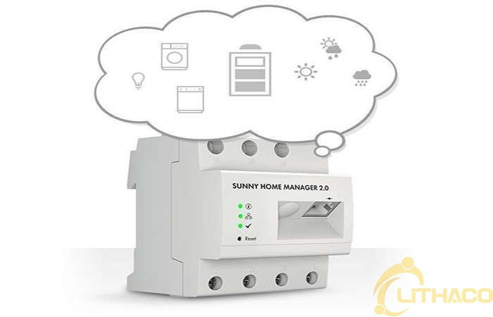 Quản lý năng lượng mặt trời thông minh bằng Sunny Home Manager 2.0 của SMA