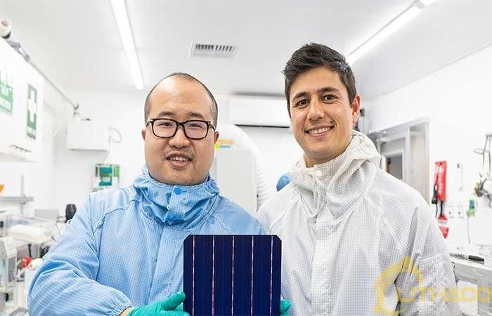 Pin mặt trời hiệu quả nhất thế giới khi thay thế bạc bằng đồng 1